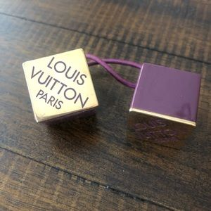 Louis Vuitton cube pony tail holder